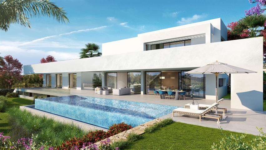 te koop New Golden Mile, Estepona villa